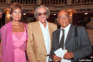 con Cicci Rossini e Mariano Rigillo
