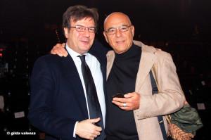 Con Antonello Perillo al Centro di Produzione Rai di Napoli Asta del cardinale Sepe 2016